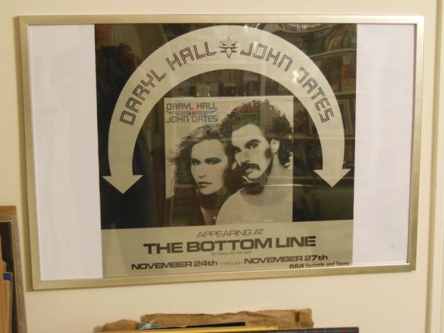 Hall and Oates - Bottom Line Poster