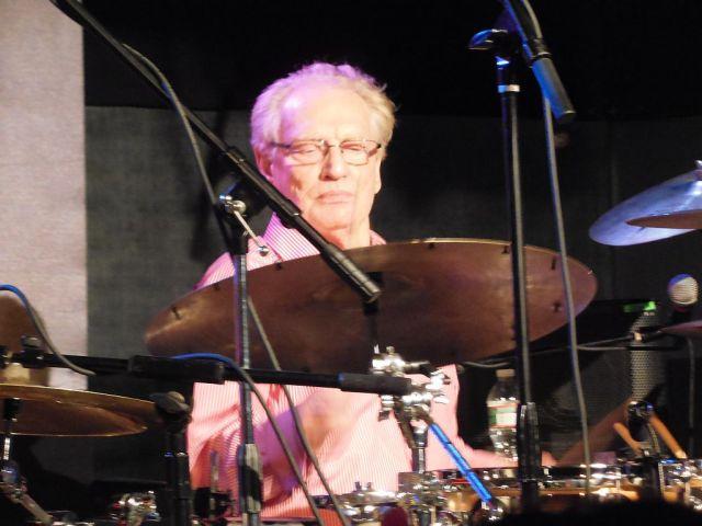 Ginger at drums