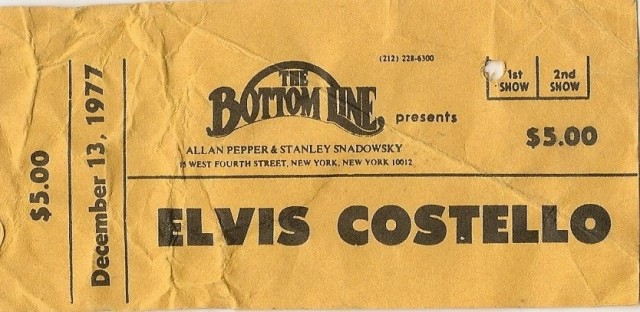 Elvis Costello - The Bottom Line - 12-13-77