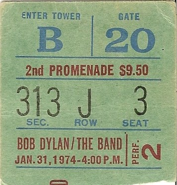 Bob Dylan & the Band 1-31-74