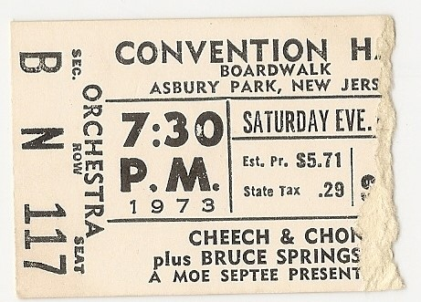 Cheech & Chong - Convention Hall 8-4-73