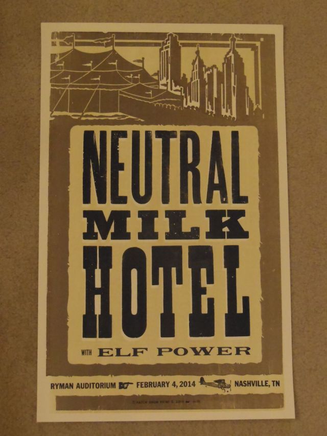 Neutral Milk Hotel - Hatch Show Print