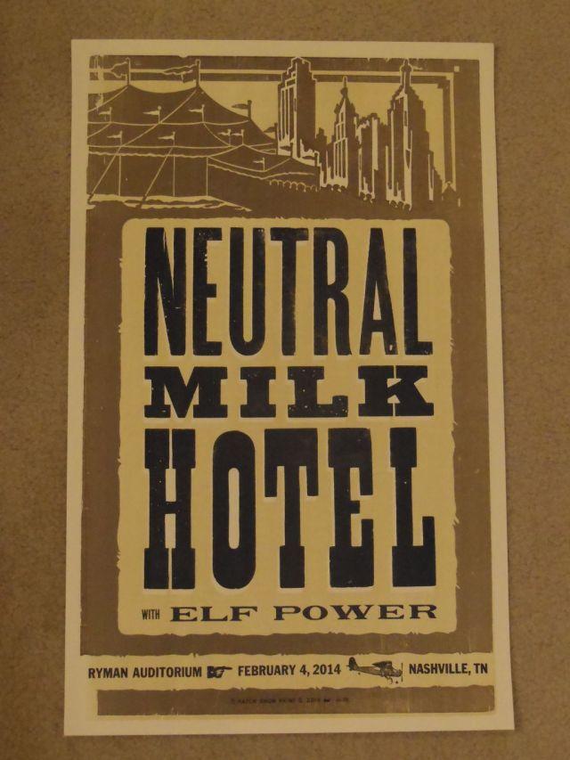 Neutral Milk Hotel - Hatch Show Print