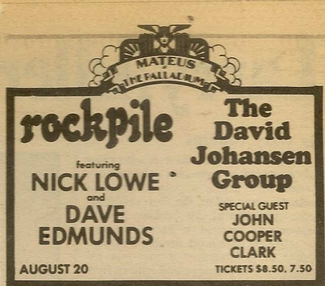 Rockplile - Paladium 8-20-79