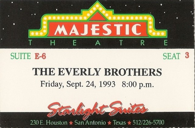 The Everly Brothers 9-24-13
