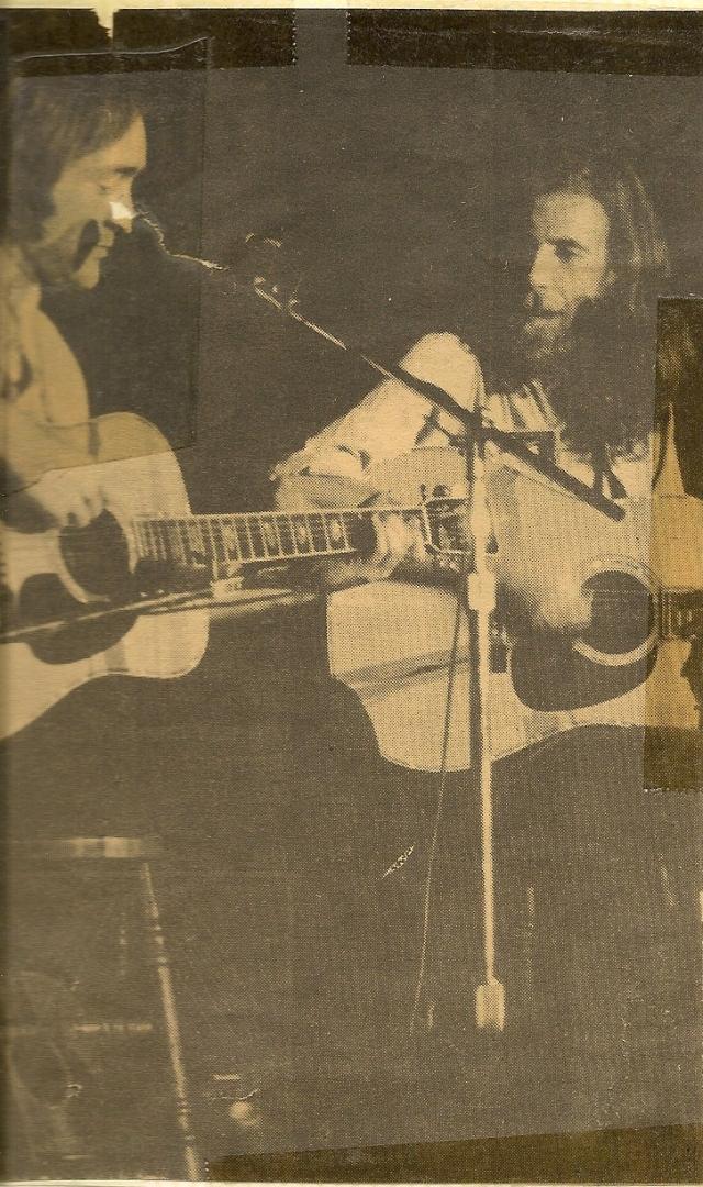 Graham Nash with Dave Mason