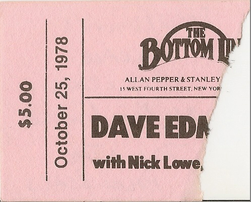 Dave Edmunds - Bottom Line - 10-25-78