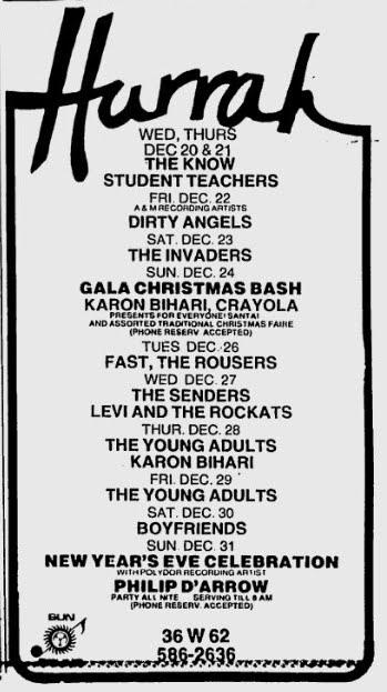 Dirty Angels - Hurrah -12-22-78