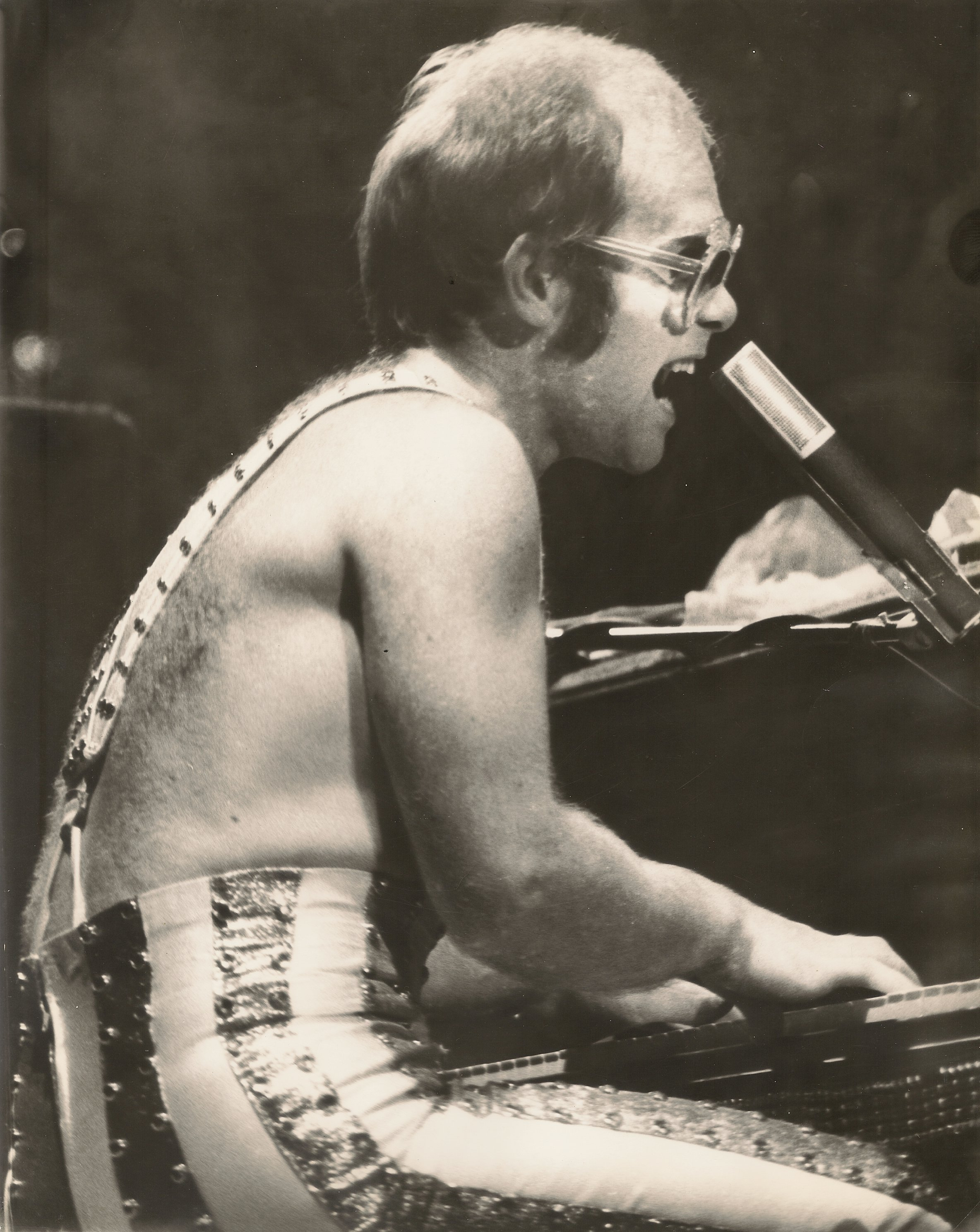 Forty Years Ago Elton John John Lennon Madison Square Garden New York Ny November 28 1974 Music City Mike