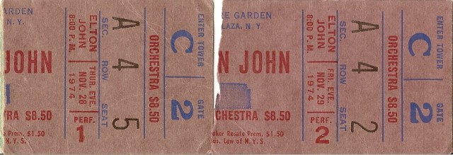 Elton - MSG - 11-28-29-74