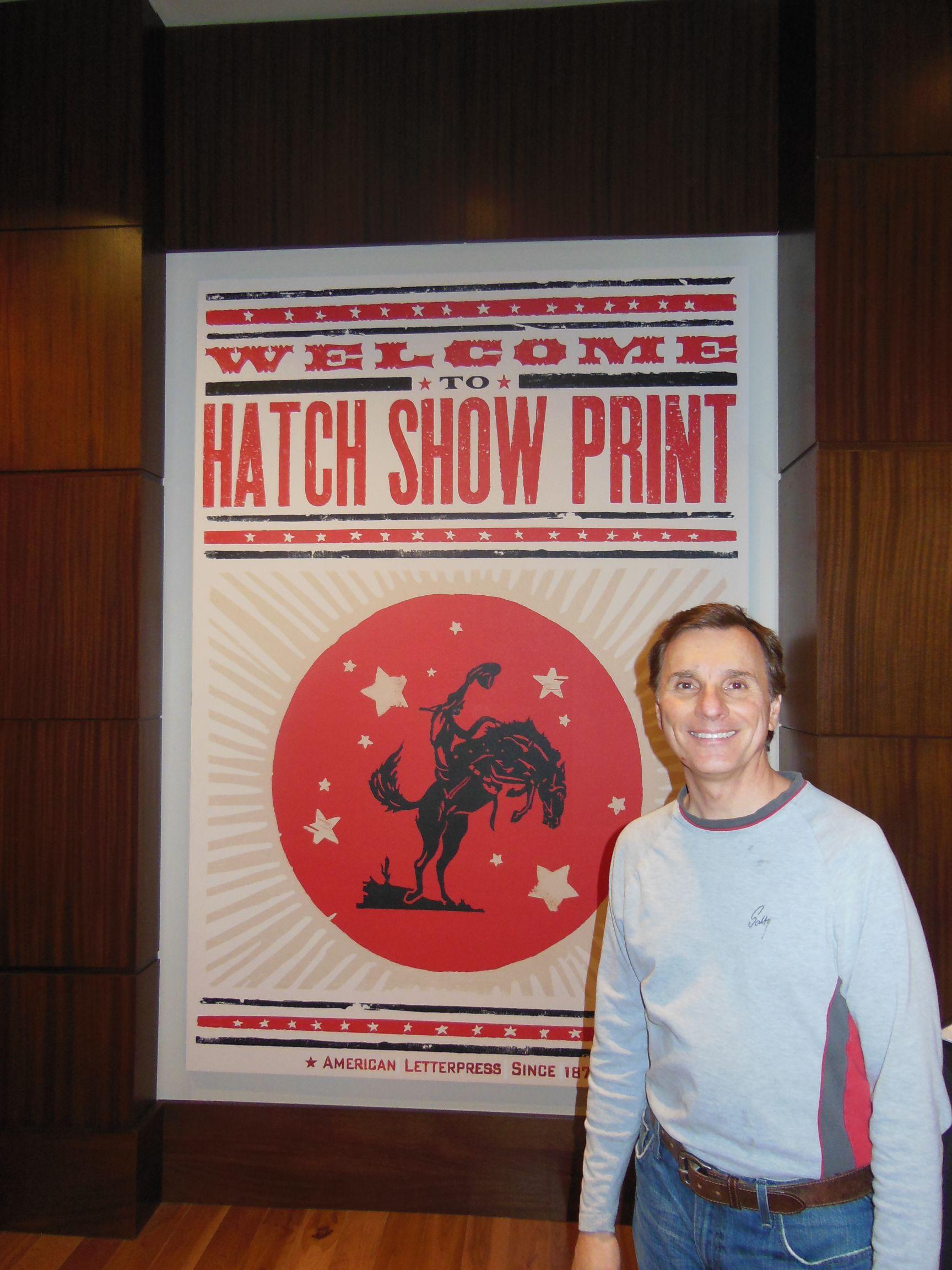 Music City Landmarks #7—Hatch Show Print | Music City Mike