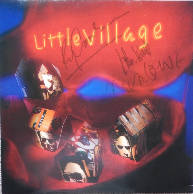 Little Village - Signed LP