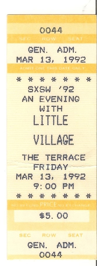 Little Village - SXSW