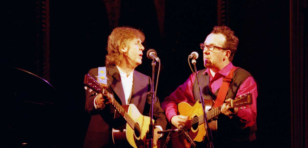 Image result for Paul McCartney And Elvis Costello's 'You Want Her Too'