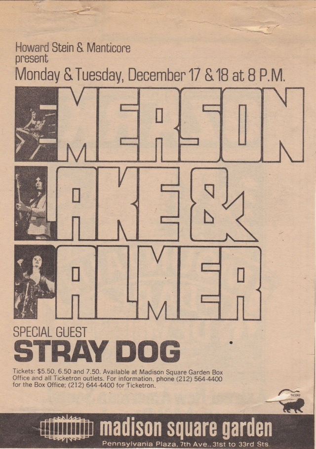 ELP - MSG Advert