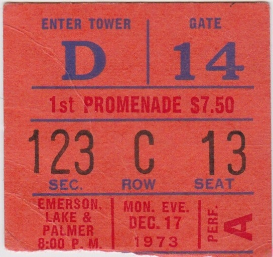 ELP - Ticket 12-17-73
