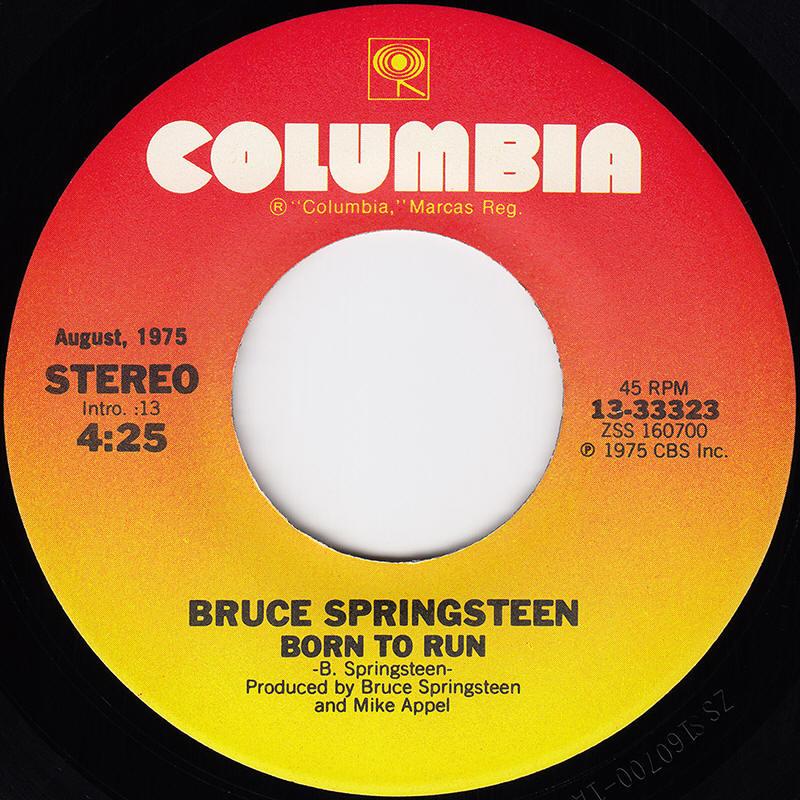 01 Born to Run - Bruce Springsteen